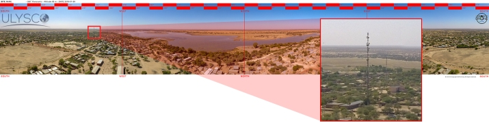 DRONE by NETIS - BURKINA FASO Operation - PANORAMIC - February 2109