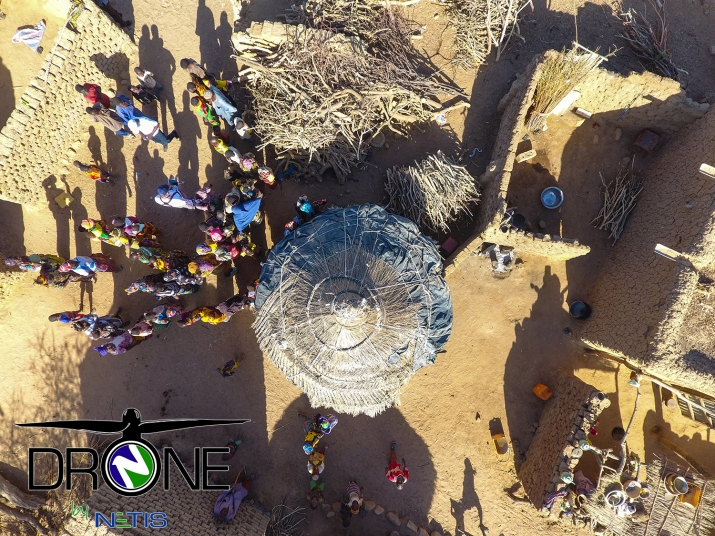 DRONE by NETIS - BURKINA FASO Operation - 01 - February 2109