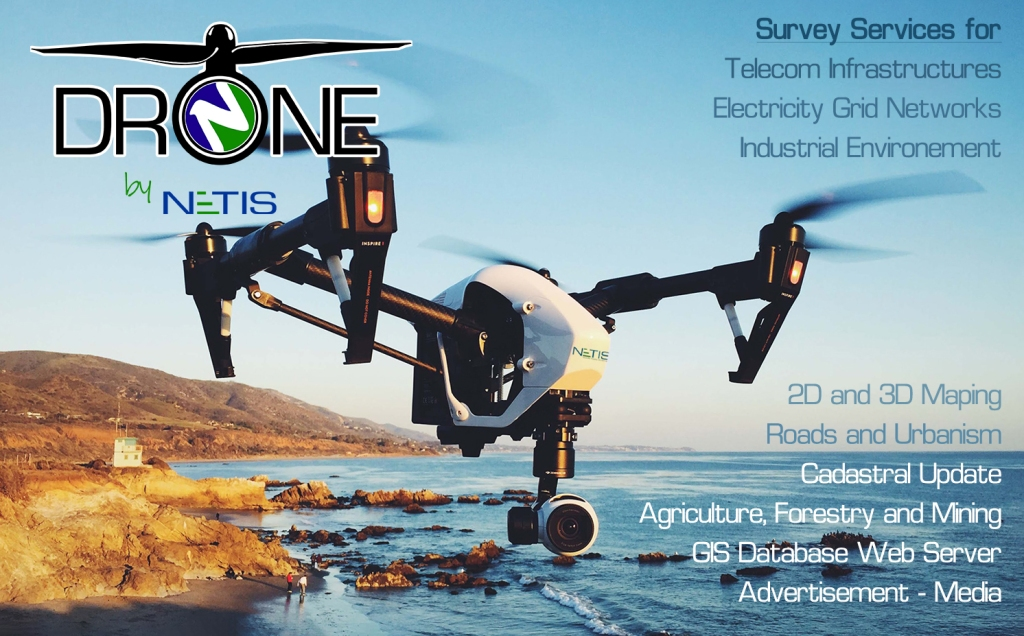 DRONE by NETIS - A NETIS Group Service
